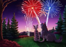 Happy Fourth by Greykitty