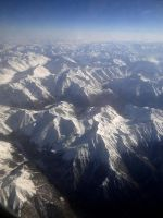 Alps from above by KayTeez