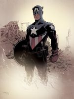 CAPTAIN AMERICA by DeclanShalvey