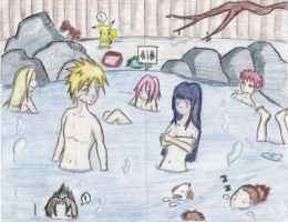Naruto Hot Springs by PinayNaruto