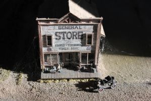 The old General Store by finhead4ever