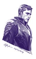 Lee Pace In Armor by mlle-annette