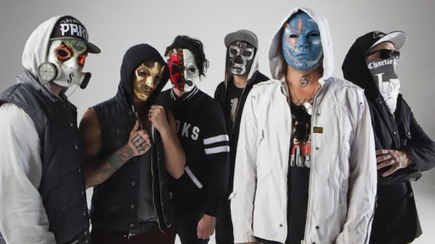 Hollywood Undead New Masks. by FunnyScene
