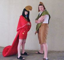 The Emperor's New Groove ACen 2013 by Teddy-sol