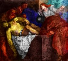 Digtal Painting Tiziano Copy by SILENTJUSTICE