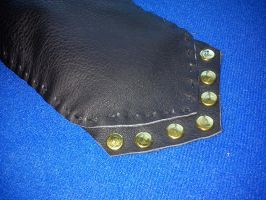 Small Leather Flute Holster 3 by Zarganath