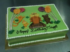 The Lorax Cake by Spudnuts