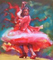 FLAMENCO 6 by renatadomagalska