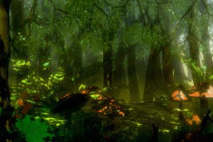 STOCK BG 22 the woodland wood by MaureenOlder