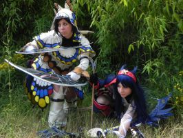 MH cosplay hunting time by HeavenAndSky