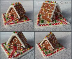 Mini Gingerbread House by Kyle-Lefort