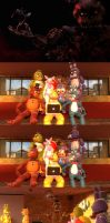 Reaction to FNAF4 by ErichGrooms3
