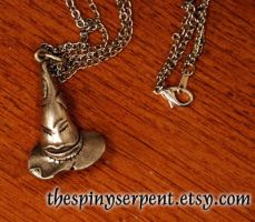 The Classic Sorting Hat - Necklace or Key Chain by kittykat01