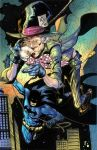 Mad Hatter and Batman by Javilaparra