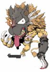 2. Timid Lion in the Cursed Wolf Mask by ZAQUARD