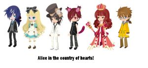 Alice In The Country Of Hearts by FireFlyTheLion