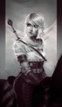Ciri by kcgeronimo
