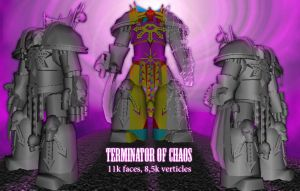 Terminator of Chaos by Shooter--Andy