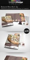 Restaurant Menu Mock-Ups by idesignstudio