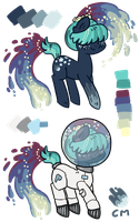 Space Rush [design trade] by Reporter-Derpy