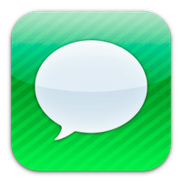 iMessage icon by flakshack