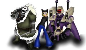 my metal friends by Kalix5
