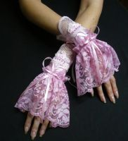 Very Pink cuff set by Estylissimo