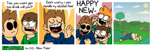 EWCOMIC No.145 - New Year by eddsworld