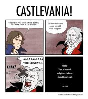 Castlevania HOw it should of happened by CharlestheComicArtis