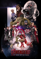 Avengers: Age of Ultron by ChristopherOwenArt