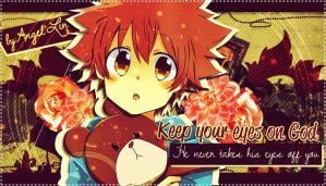 Keep your eyes on God by AngelLinx3