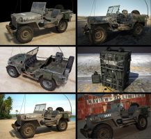 Willys Jeep medley by maView