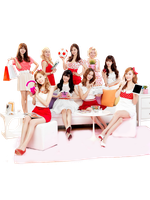 Girls' Generation (SNSD) png [render] by pikudesign