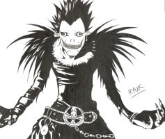 Ryuk sketch by katpann