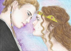 Anakin And Padme by Michael1525