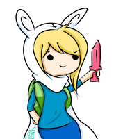 A Wild Chibi Fionna Appears by SourBears