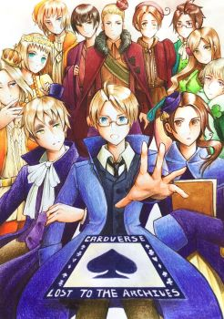 Hetalia AU Cardverse - Lost To The Archives by Amesp
