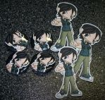 TDI - Chris Pins and Stickers by Paradise-Props