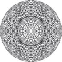Mandala drawing 20 by Mandala-Jim