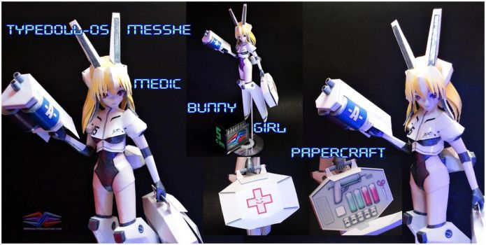 TypeDoll-05 Messhe Papercraft by BRSpidey
