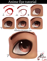 Let's Draw an Anime Eye! by HalanLore