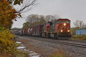 CN and BNSF II 10-15-14 by the-railblazer