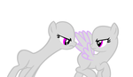 ponies mad at eachother base by JusticePrevail