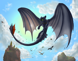 New Toothless by RadecMai