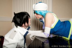 Fairy Tail - Almost A Kiss by EveilleCosplay
