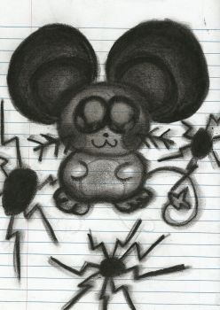 Charcoal Dedenne - Update by DFX4509B