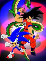 Legend of Sonic and Goku BG by gamefreak2008