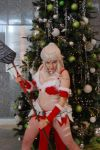 Snow Bunny Nidalee ready for battle by JMCosplay