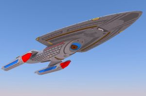 Star Trek Voyager: Intrepid Class Prototype 2 by calamitySi