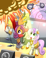 Striderloo saves Sweetie Belle! by kagekitsoon